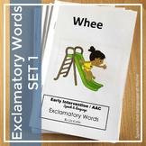 Exclamatory Word Books Set 1