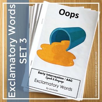 Exclamatory Word Books Set 3