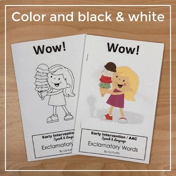Exclamatory Word Books for Early Intervention: Bundle Set 3