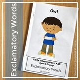 """Exclamatory Word Book: """"Ow!"""" for Early Intervention"""