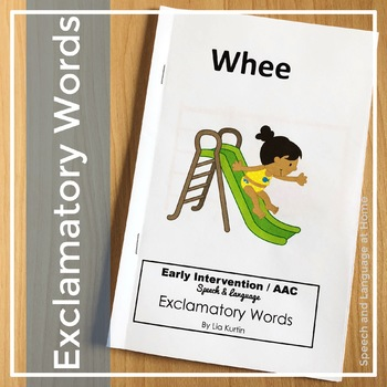 """Exclamatory Words """"Whee"""""""