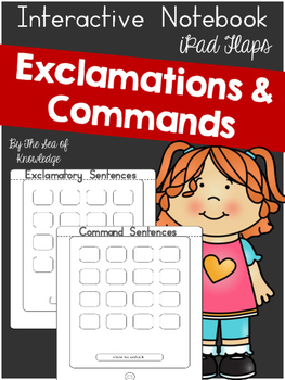 Exclamatory and Command Sentences by Sea of Knowledge | TpT