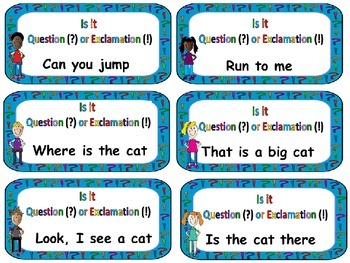 Exclamatory or Asking sentences: Quiz, quiz, trade or Inner/Outer Circle