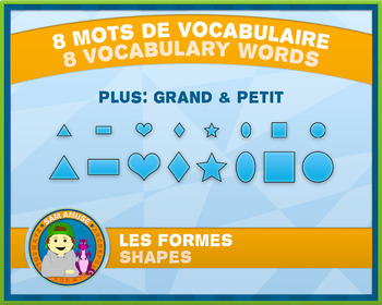 FREE • French Shapes J'ai/Qui a Card Game