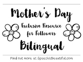Exclusive Subscriber Free Resource: Bilingual Mother's Day