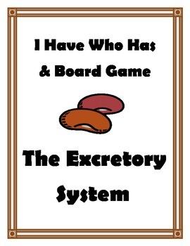 EXCRETORY SYSTEM GAMES