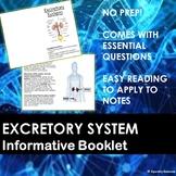 Excretory System Information Booklet