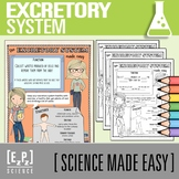 Excretory System Made Easy- Student Notes and Powerpoint