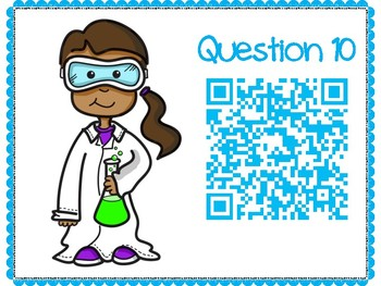 Excretory System QR Code Hunt (Content Review or NB Quiz)