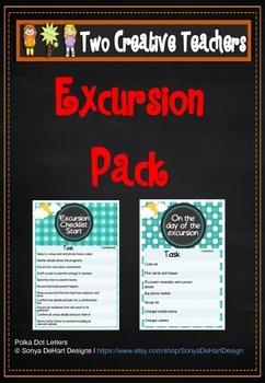 Field Trip Excursion Checklist Teacher Resource