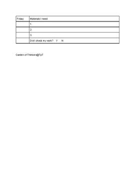 Execute A Task Sheet