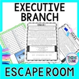 Executive Branch ESCAPE ROOM: President, U.S. Constitution
