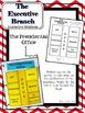 Executive Branch Interactive Notebook