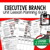 Executive Branch Lesson Plan Guide Civics Government Back