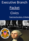 Executive Branch Packet - Two Weeks!