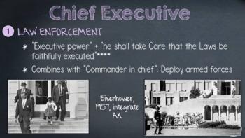 Executive Branch Powerpoint INTERACTIVE!!!!