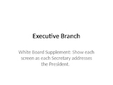 Executive Branch Simulation PowerPoint