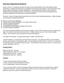 Executive Departments Research Paper