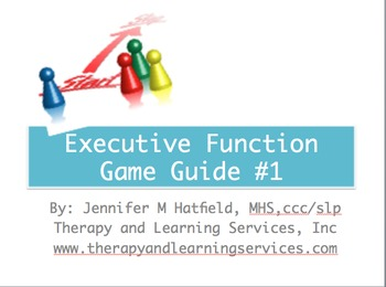 Executive Function Game Guide Bundle {Companions for ®UNO