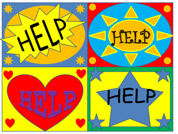 Executive Function HELP CARDS
