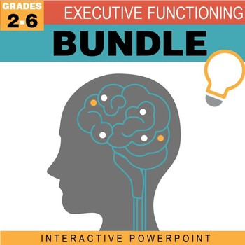 Executive Function MEGA Bundle (16 Interactive PowerPoints & Extras!)