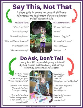 Executive Function Parent Handout Pack 7 Easy To Use Home Strategies