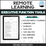 Executive Function Remote Learning Tools