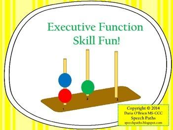 Executive Function Skill Fun!