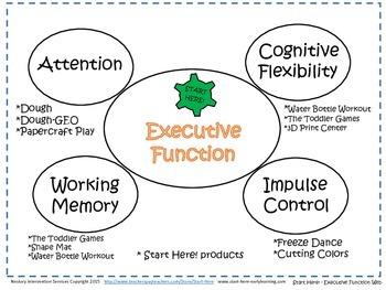 Executive Function Web - Target = Activity