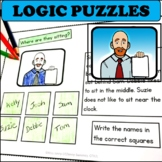 Executive Functioning Activities Logic Puzzle Worksheets