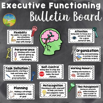 Executive Functioning Bulletin Board