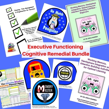 Executive Functioning Cognitive Remedial Bundle