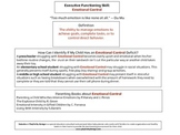 Executive Functioning Emotional Control Overview