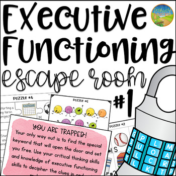 Executive Functioning Escape Room