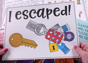 Executive Functioning Escape Room Activity