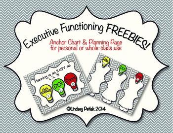 Executive Functioning FREEBIE