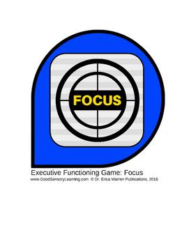 Executive Functioning Game: Focus