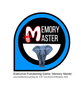 Executive Functioning Game: Memory Master