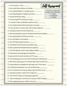 Executive Functioning Handouts and Worksheets by School ...