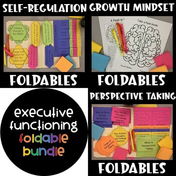 Executive Functioning Interactive Notebook BUNDLE