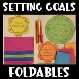 SMART Goals Interactive Notebooks (Study Skills)