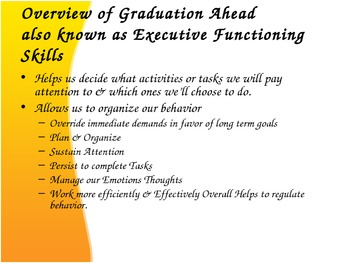 Executive Functioning Introduction