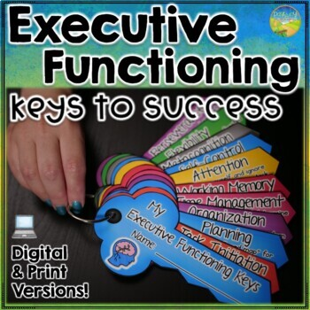 Executive Functioning Keys Craftivity