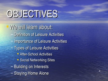 Executive Functioning Leisure Activities