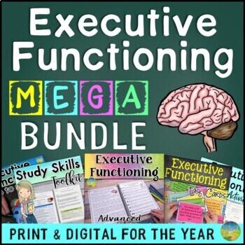 Executive Functioning MEGA Bundle - Distance Learning