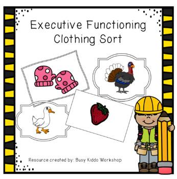 Executive Functioning- Organization BUNDLE!!!