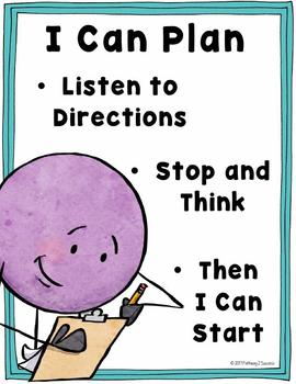 Executive Functioning Posters