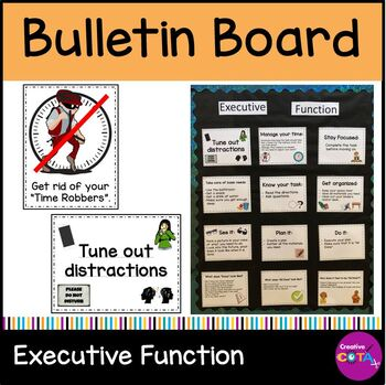 Executive Functioning Posters or Bulletin Board