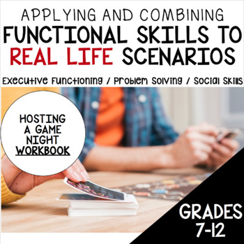 Executive Functioning, Problem Solving Scenarios and Social Skills for Teens