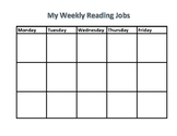 Executive Functioning Reading Workshop Schedule